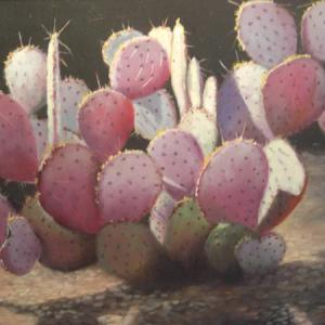 CACTUS oil painting, $350