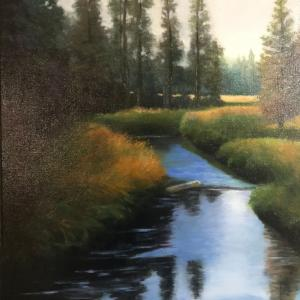 """Peaceful River"" available for $475"