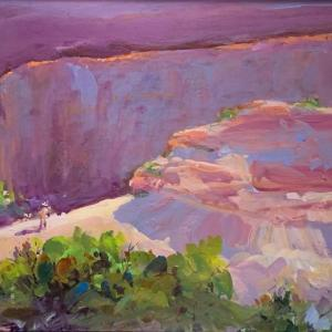 THE PAINTER AT DEAD HORSE POINT, SOLD